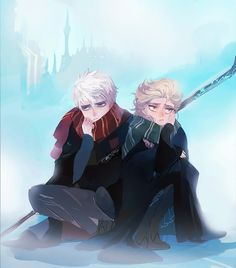 elsa and jack frost   Tumblr