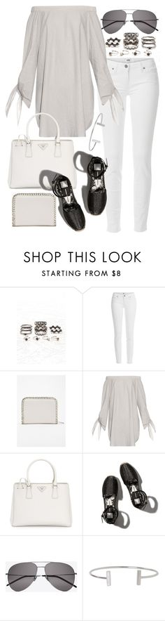 """Untitled #19687"" by florencia95 ❤ liked on Polyvore featuring Forever 21, Paige Denim, TIBI, Prada, Abercrombie & Fitch, Yves Saint Laurent and Humble Chic"