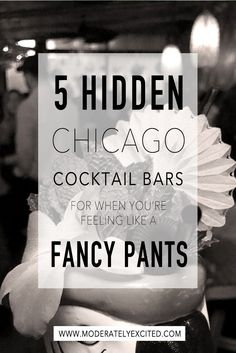 5 hidden Chicago cocktail bars for when you're feeling like a fancy pants