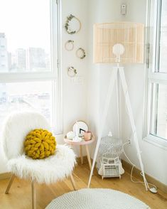 Rincon #hygge Ideas Actuales, Room Ideas, Nordic Home, Hanging Chair, Kids Room, Diy, Modern, Furniture, Decorating Ideas