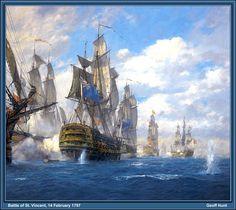 Battle of St. Vincent (Geoff Hunt)