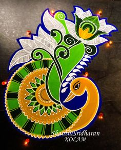 50 Attractive Rangoli Design (ideas) that you can make yourself or get it made during any occasion on the living room or courtyard floors.