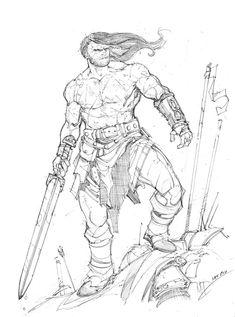 Barbarian by Max-Dunbar on deviantART