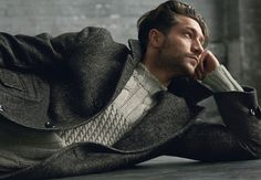 Good Looking Casual Coat and Sweater
