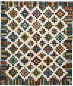 Glad Creations Patterns, great scrap quilt pattern for strips.