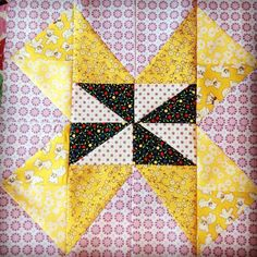 Quilt Now BOM block by Ceciliainthestable on Instagram.