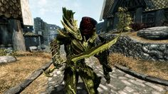 skyrim armor white and gold - Google Search