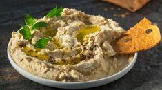 Hummus z fazolek mungo Hummus, Feta, Food And Drink, Ethnic Recipes