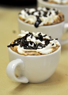 Dark Chocolate Mocha with Instant Coffee (this web site has some really wonderful sounding recipes)