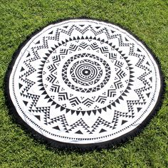 ohana round beach towel (roundie)