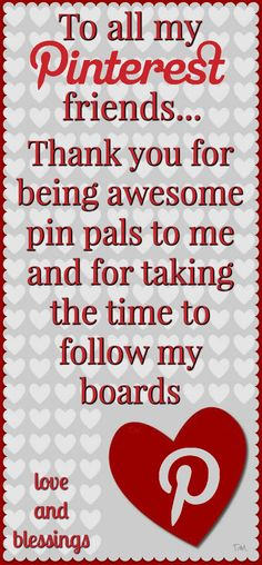 Thanks for being awesome pin pals ♥ Tam ♥