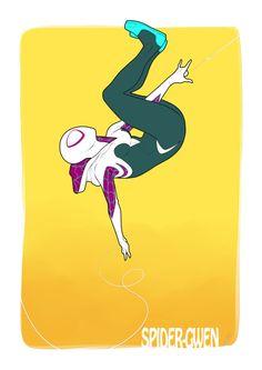 Spider-Gwen by Héctor Barros