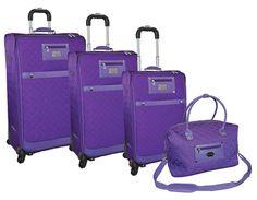 4 Piece Luggage Set