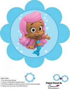 {Free} Printable Bubble Guppies Wall Decor 2