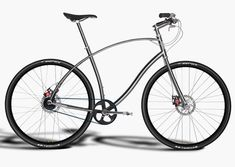 Go #green in style and swap traditional transportation for these sleek urban bicycles by Paul Budnitz.