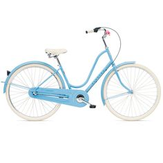 Vélo de Ville Electra AMSTERDAM 3i - 26'' Shimano Nexus 3 V Bleu Fins de Séries | Alltricks.fr