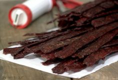 Homemade Beef Jerky out of ground meat!