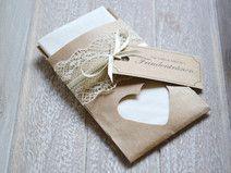 Freudentränen-Taschentücher Vintage zur Hochzeit