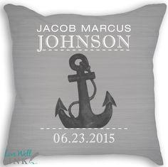 Anchored Announcement - Pillow