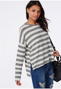Everyone needs a fuss-free tee in their wardrobe and this one fits the bill. This long sleeve top has been revamped to bring you a super chic piece that will bring your style right up to date. We love the soft lightweight jersey fabric, ove...