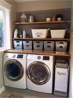 finished basement with laundry room, 8x10 laundry room ideas, small laundry room...,