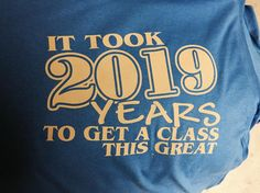 Of course we can do class shirts! We have a handful of these designs left