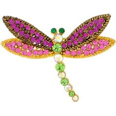 Colorized Dragonfly Swarovski Crystal Insect Pin Brooch Fantasyard. $19.99. Gift box available for an additional fee. Please check out through gift-wrap option. Other color available. Exquisitely detailed designer style
