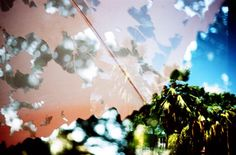Rebobina Filme - double exposure project