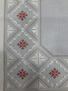 Discover thousands of images about Saadet Caylan Embroidery Sampler, Hardanger Embroidery, Hand Embroidery Designs, Embroidery Stitches, Embroidery Patterns, Cross Stitch Patterns, Palacio Bargello, Swedish Weaving, Drawn Thread