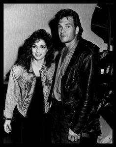 Gloria Estefan and Patrick Swayze