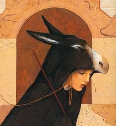 Donkeyskin – Pelle 'asino – illustrated by Anne Romby