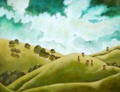 'Happy Valley' by Caren Satterfield . www.TartagliaFineArt.com