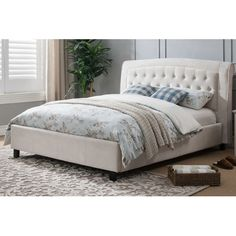 found it at wayfair nielson upholstered platform bed