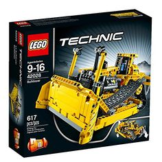 Get ready to push heavy loads with the awesome LEGO Technic Bulldozer! This tough 2-in-1 model is packed with realistic details including a massive working blade and powerful ripper wide moving trac...