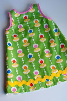 Aesthetic Nest: Sewing: Mod Shift Dress (Tutorial)