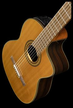 Takamine Cutaway Classical Guitar, Colour: looks like mine Classical Guitars, Classical Acoustic Guitar, Acoustic Music, Acoustic Guitars, Music Guitar, Takamine Guitars, Banjos, All About Music, Cutaway