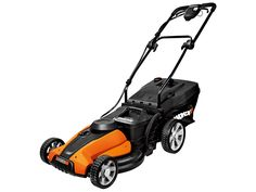 """Worx 24V Cordless 17"""" Lawn Mower w/ IntelliCut™:  Needed a mower to do the tight places and spaces where the lawn tractor was overkill.  Didn't want another gas burner... This mower did the trick."""