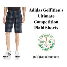 Adidas Golf, Plaid Shorts, Golfers, Mens Golf, Range Of Motion, Golf Outfit, Golf Tips, Golf Shirts, Shop Now