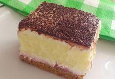 Emeletes élvezet cukormentesen Hungarian Cake, Hungarian Recipes, Diabetic Recipes, Diet Recipes, Vanilla Cake, Tiramisu, Mousse, Cheesecake, Ice Cream