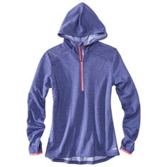 Champion® Women's Long-Sleeve Fleece Hoodie Athletic Top - I like things that have thumb holes. Just $28.