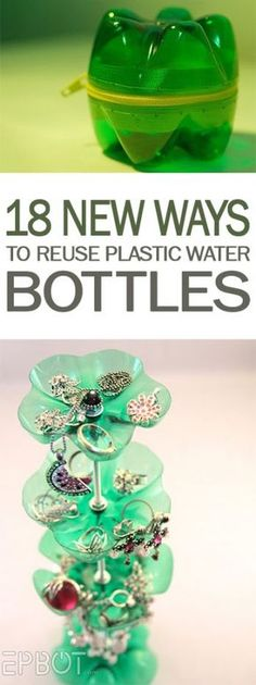 18 New Ways to Reuse Plastic Water Bottles - 101 Days of Organization