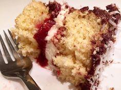 Chocolate Jam-n-Cream Lamington Cake - Cakeophilia Lamington Cake Recipe, Big Chocolate, Sponge Cake, Cake Recipes, Cooking Recipes, Cream, Desserts, Food, Creme Caramel