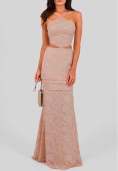POWERLOOK- Aluguel de Vestidos Online - Vestido Adele longo com recorte na cintura e tecido brocado Unity7 - rosê  #adele #vestidolongo #longo #recortenacintura #tecidobrocado #unity7 #brocado #rose #vestidorose #alugueldevestidos #powerlook #vestidomadrinha #madrinha #vestidocasamento #casamento #vestidofesta #festa  #lookcasamento #lookmadrinha #lookfesta #party #glamour #euvoudepowerlook  #dress   #dia