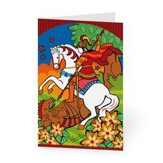 Nossos cartões chegam pra você em pacotes de 8 unidades. Em 10x15cm de cada lado e impressão na frente, são perfeitos para acompanhar aquele presente estiloso, dar parabéns ou escrever uma mensagem especial. Compre aqui:  https://www.colab55.com/@monicafuchshuber/cards/sao-jorge