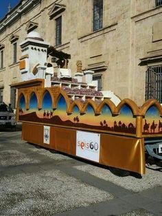 Seis60, en la Cabalgata de los Reyes Magos de Sevilla!