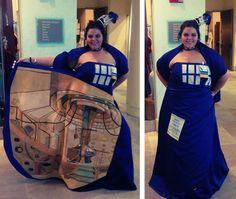 Coolest Tardis dress