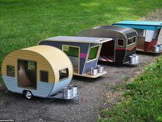 des caravanes miniatures pour chien