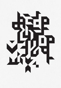 typographic pattern
