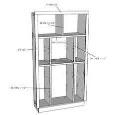 How to Build a Pantry Cabinet With Detailed step by step instructions