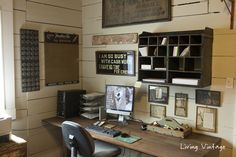 our home office reveal - Living Vintage